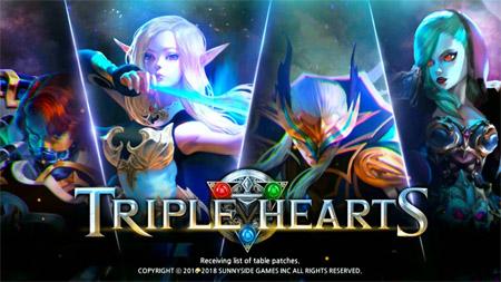 Cận cảnh game thả quân đẩy trụ Triple Hearts Mobile trong ngày đầu ra mắt tại thị trường Việt Nam