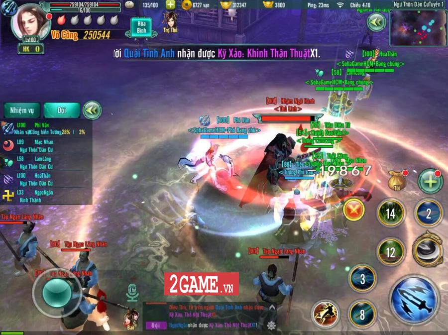 Tiêu Dao Giang Hồ Mobile - Cho phép người chơi một ngày luyện võ làm cỏ cả Võ lâm 2