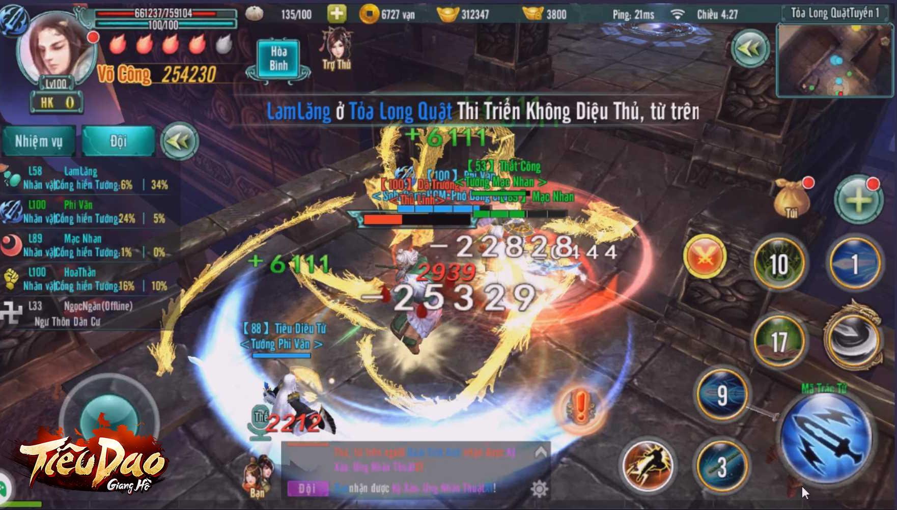 Tiêu Dao Giang Hồ tìm về chất kiếm hiệp ở giai đoạn hoàng kim của dòng game nhập vai 0