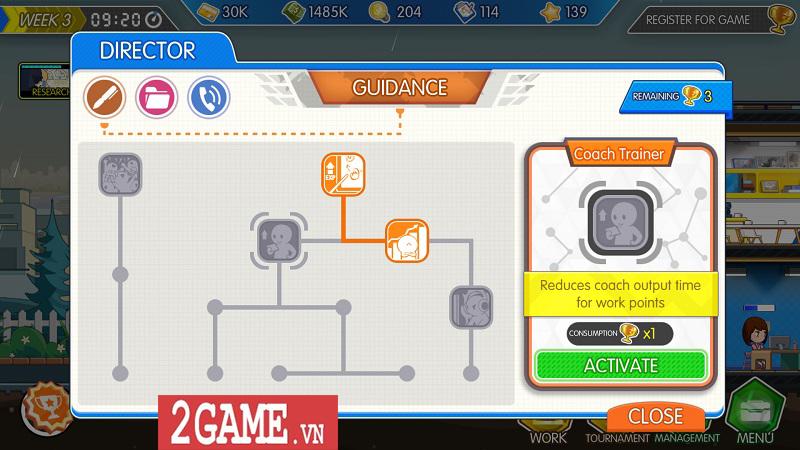 Game eSports Legend cho phép bạn hóa thân thành HLV của đội tuyển Liên Minh Huyền Thoại 3