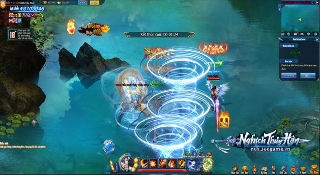 Bạn đã thử qua chiến trường liên server 1vs1 đẳng cấp trong webgame Nghịch Thủy Hàn chưa?! 0