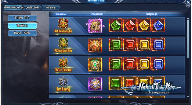 Bạn đã thử qua chiến trường liên server 1vs1 đẳng cấp trong webgame Nghịch Thủy Hàn chưa?! 2