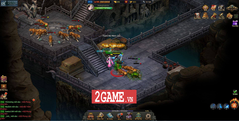 Mọi tinh hoa của dòng game kiếm hiệp tình duyên đều hội tụ trong Võ Lâm Truyền Kỳ H5 6