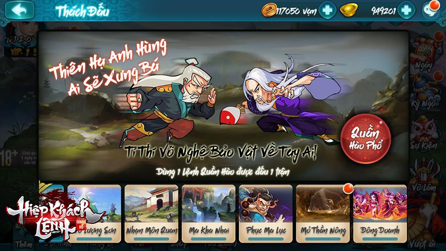 Giang Hồ Hiệp Khách Lệnh - Game thẻ tướng kiếm hiệp số 1 Trung Quốc đã về Việt Nam 12