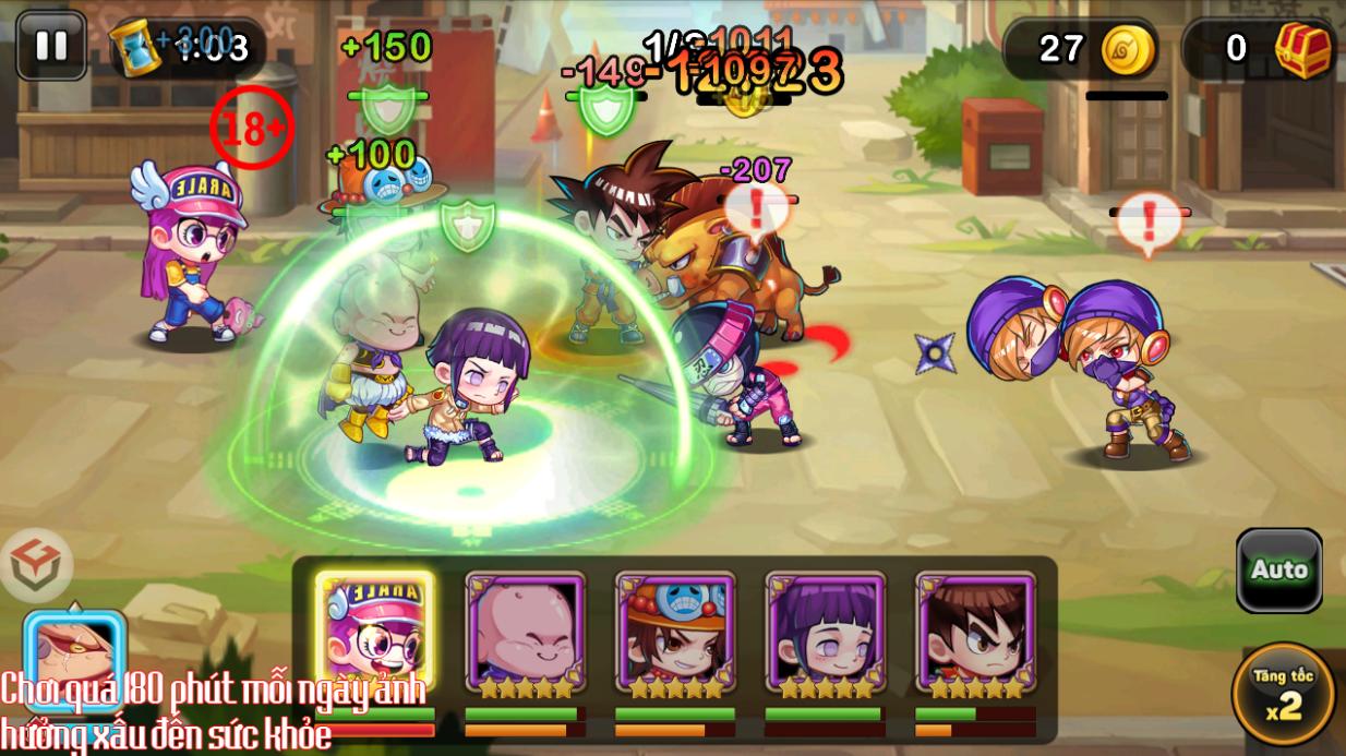 Game mới Học Viện Bá Đạo mobile cập bến làng game Việt 12
