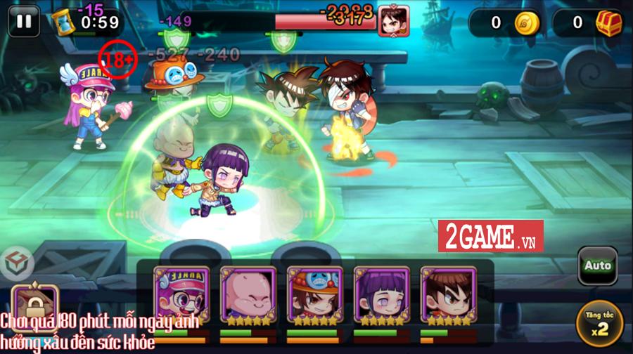 Game mới Học Viện Bá Đạo mobile cập bến làng game Việt 0