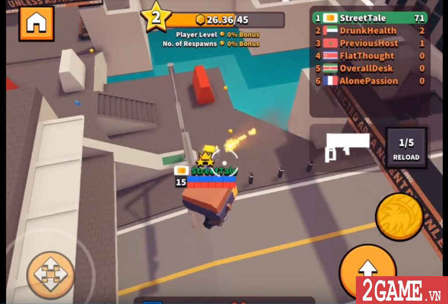 Top 10 game online mang phong cách hỗn chiến vô cùng vui nhộn 7