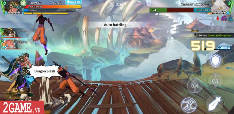 Lights in Chaos Mobile - Game Tam Quốc cuộn cảnh màn hình ngang cực chất về Việt Nam 2