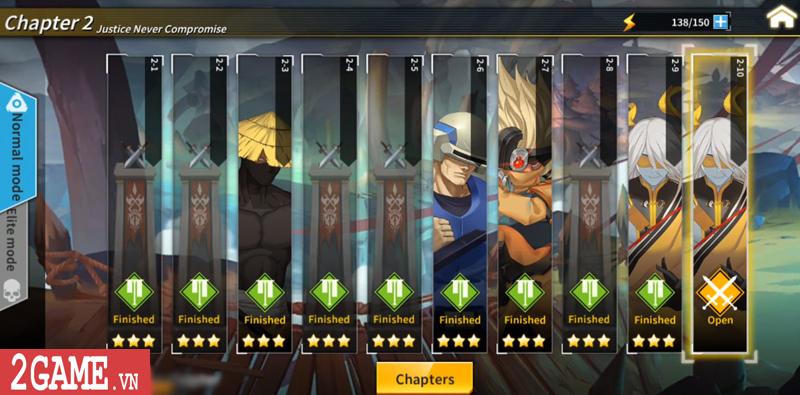 Lights in Chaos Mobile - Game Tam Quốc cuộn cảnh màn hình ngang cực chất về Việt Nam 4