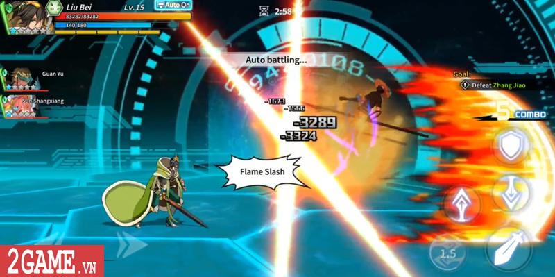 Lights in Chaos Mobile - Game Tam Quốc cuộn cảnh màn hình ngang cực chất về Việt Nam 5