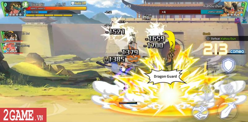 Lights in Chaos Mobile - Game Tam Quốc cuộn cảnh màn hình ngang cực chất về Việt Nam 8