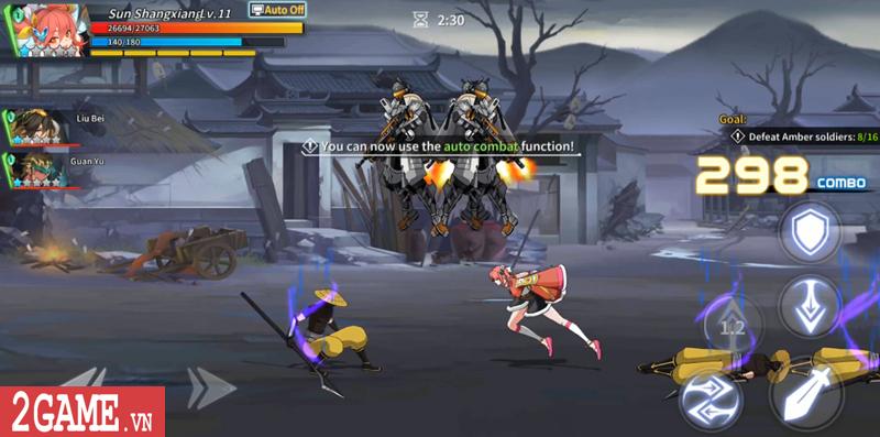 Lights in Chaos Mobile - Game Tam Quốc cuộn cảnh màn hình ngang cực chất về Việt Nam 7