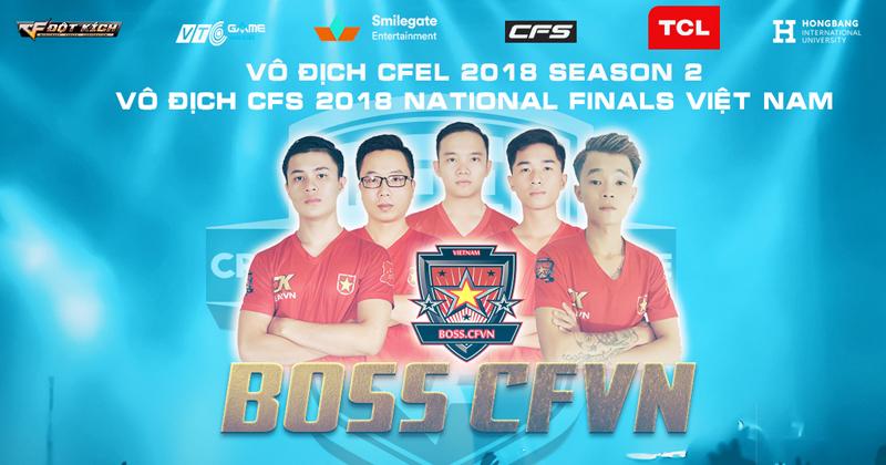 Boss CFVN tiếp tục thống trị Đột Kích Việt Nam bằng cú đúp danh hiệu và 300 triệu tiền thưởng 1