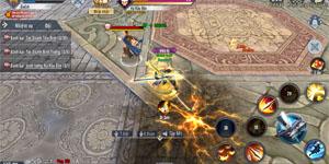 Thần Long Tam Quốc Mobile áp dụng đấu trường đồng cấp nơi trình PK tay của người chơi lên tiếng