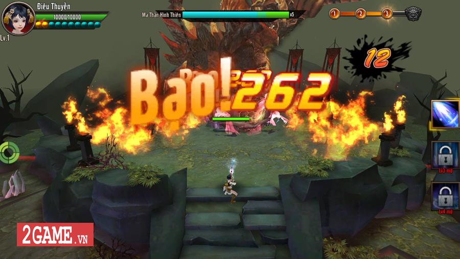 Trải nghiệm Chiến Thần Vô Song Mobile: Cải tiến thao tác, nâng trình lối chơi 6
