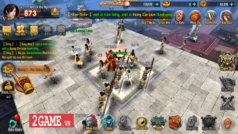 Trải nghiệm Chiến Thần Vô Song Mobile: Cải tiến thao tác, nâng trình lối chơi 2