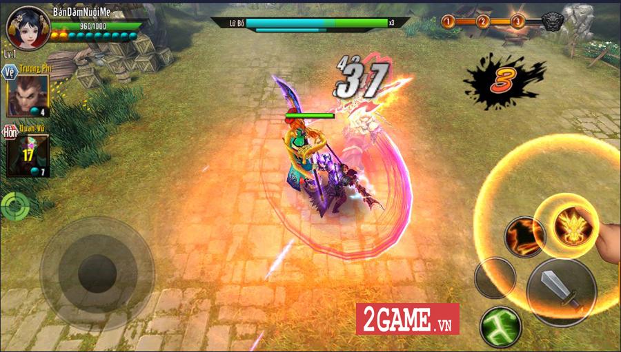 Trải nghiệm Chiến Thần Vô Song Mobile: Cải tiến thao tác, nâng trình lối chơi 0