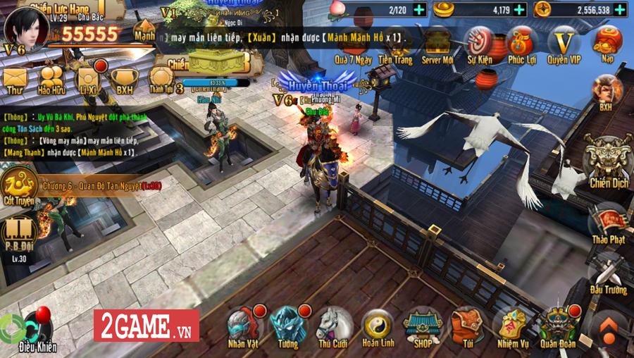 Trải nghiệm Chiến Thần Vô Song Mobile: Cải tiến thao tác, nâng trình lối chơi 1