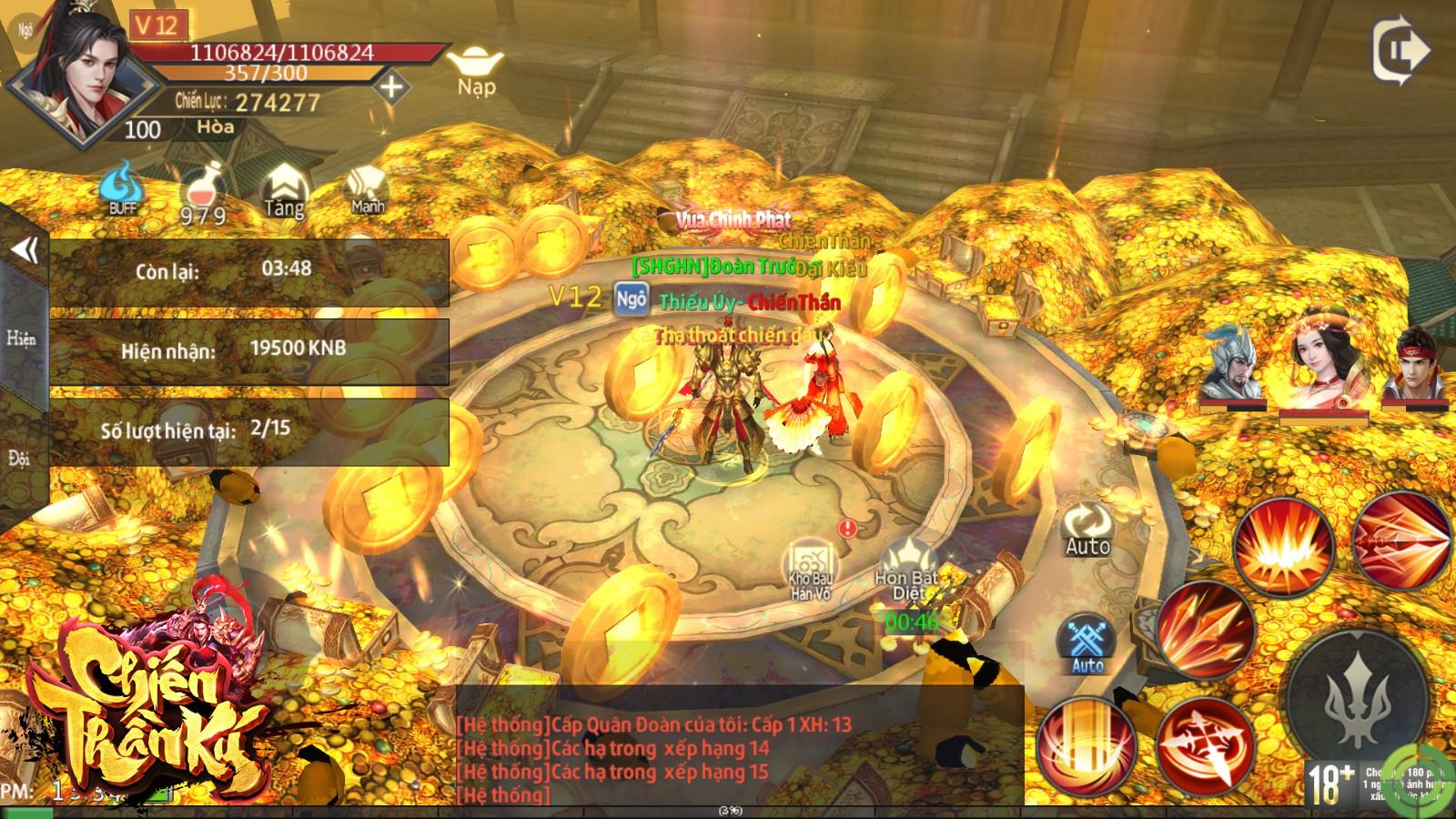 Game nhập vai cày cuốc thả ga Chiến Thần Ký Mobile công bố ngày ra game 0
