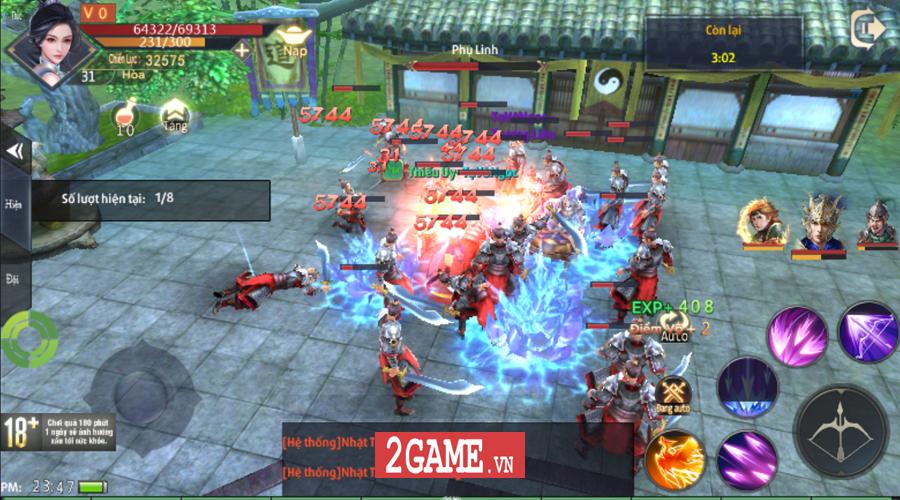 Ngoài cày KNB ra Chiến Thần Ký Mobile còn cho người chơi thỏa sức