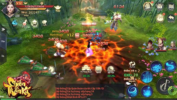 Game nhập vai cày cuốc thả ga Chiến Thần Ký Mobile công bố ngày ra game 3