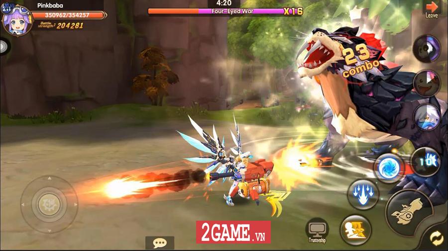 Hậu Duệ Tam Quốc Mobile cho người chơi phát triển nhân vật từ ngoại hình cho đến kỹ năng 7