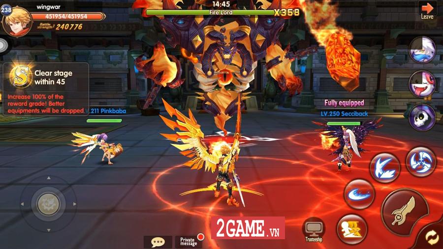 Hậu Duệ Tam Quốc Mobile cho người chơi phát triển nhân vật từ ngoại hình cho đến kỹ năng 5