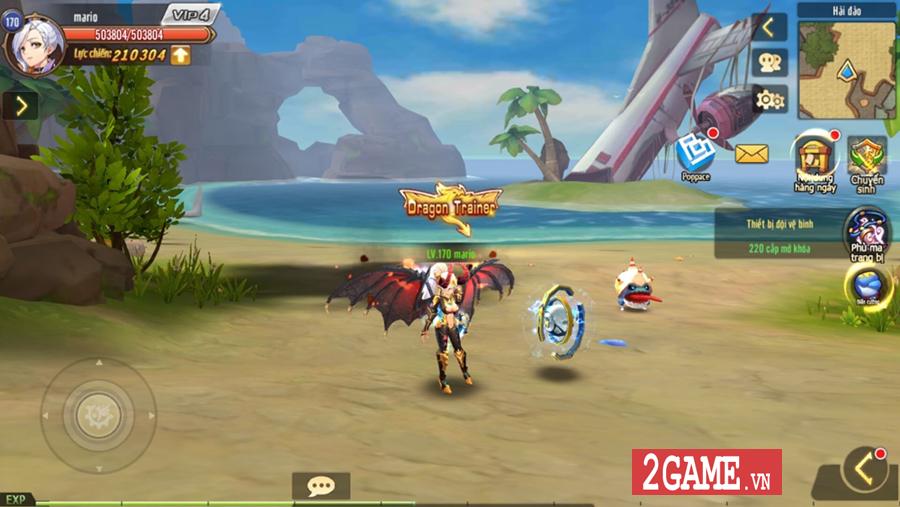 Hậu Duệ Tam Quốc Mobile cho người chơi phát triển nhân vật từ ngoại hình cho đến kỹ năng 2