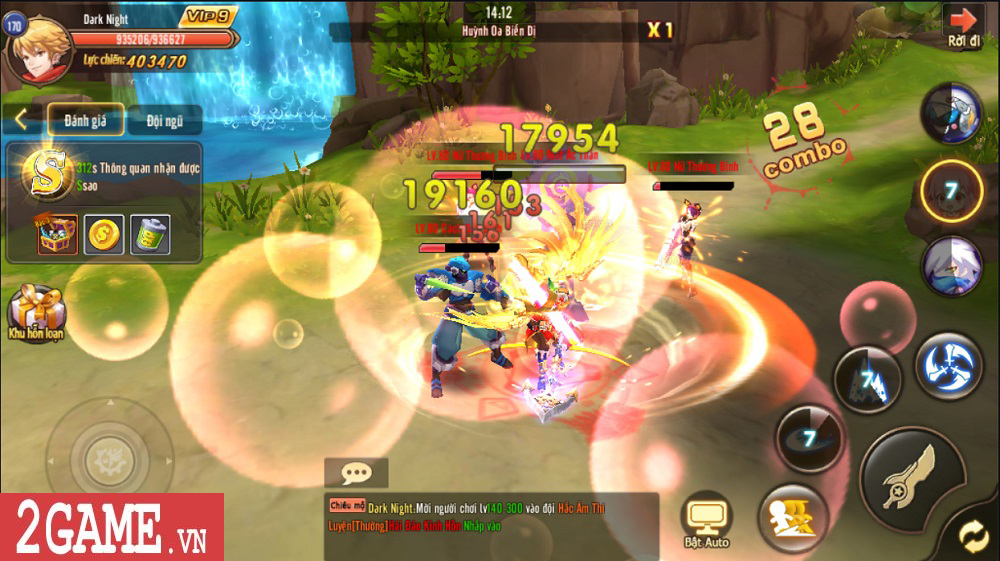 Hậu Duệ Tam Quốc Mobile cho người chơi phát triển nhân vật từ ngoại hình cho đến kỹ năng 4