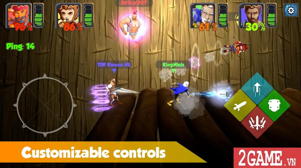 Top 10 game online mang phong cách hỗn chiến vô cùng vui nhộn 4