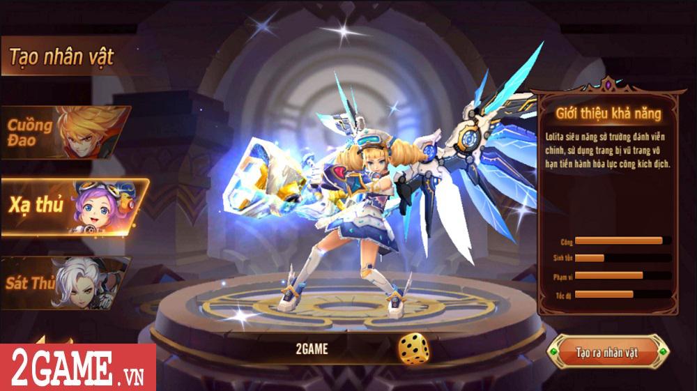Hậu Duệ Tam Quốc Mobile cho người chơi phát triển nhân vật từ ngoại hình cho đến kỹ năng 1