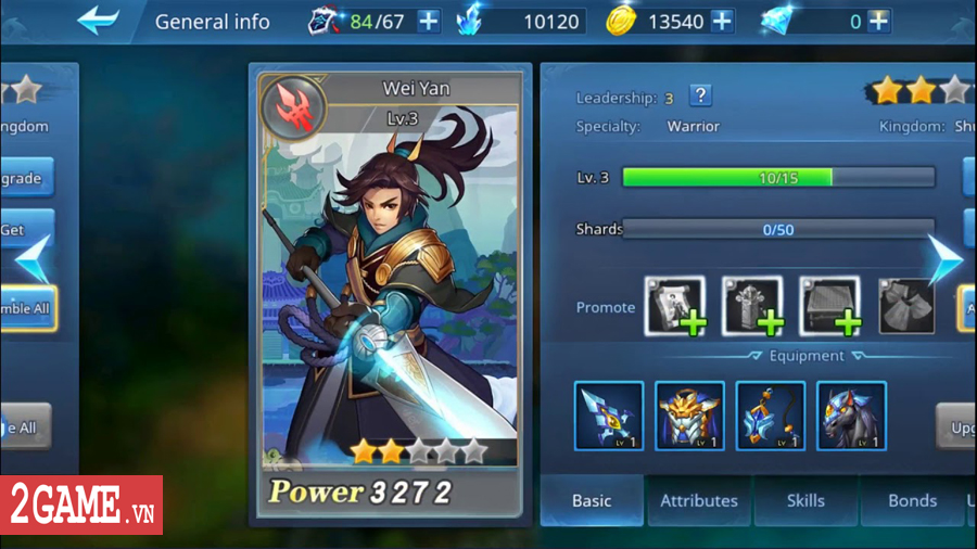 Đế Vương Bá Nghiệp Mobile - Game chiến thuật dàn trận thả quân với lối chơi đầy biến ảo 4