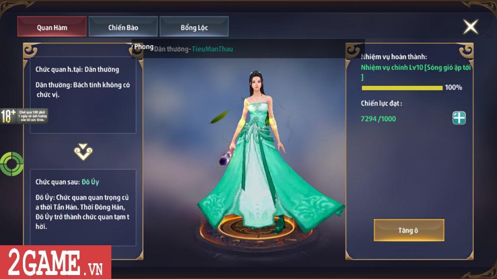 Chiến Thần Ký Mobile là game đầu tiên có hệ thống tự phát lương bổng cho người chơi 0