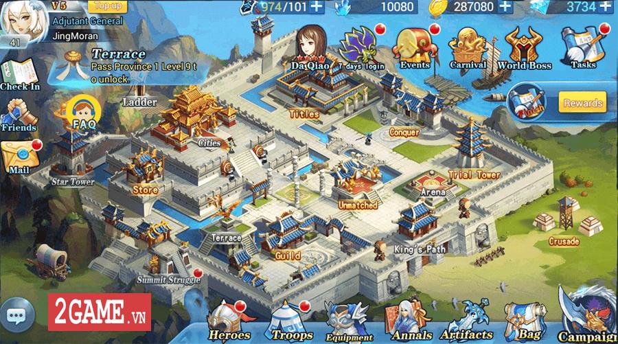 Đế Vương Bá Nghiệp Mobile - Game chiến thuật dàn trận thả quân với lối chơi đầy biến ảo 1