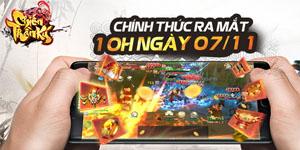 Tặng 1111 VIP code Chiến Thần Ký Mobile