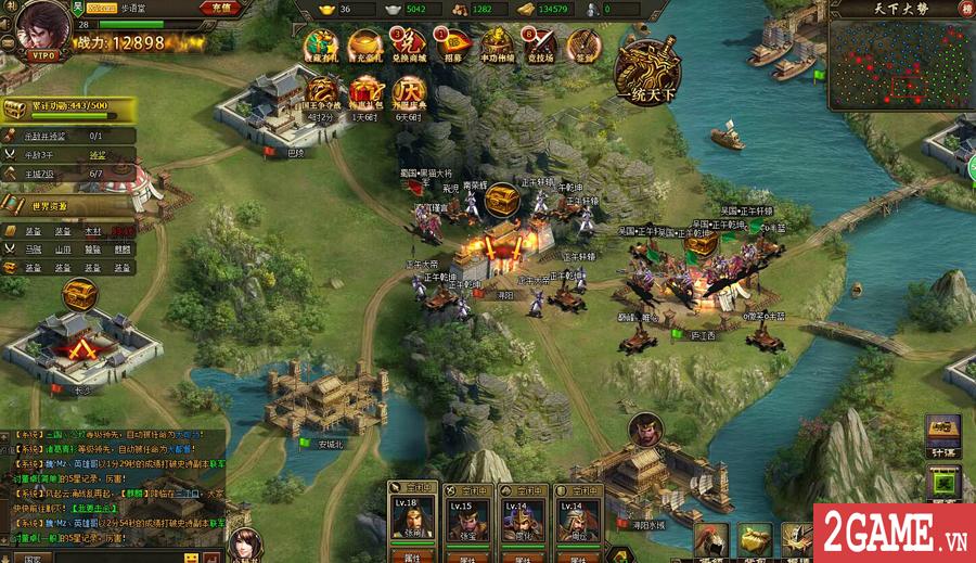 Webgame Loạn Tam Quốc cập bến Việt Nam, do CMN Online phát hành 1