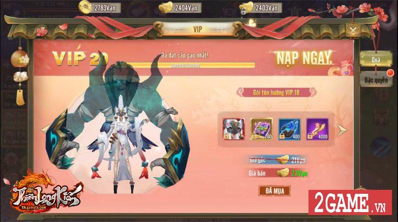 Thiên Long Kiếm Gamota tung update mới, tặng giftcode trị giá 500 nghìn VND 3
