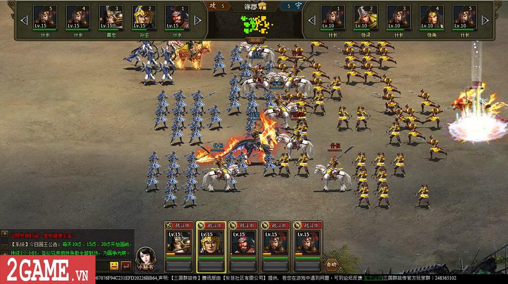 Chơi thử Webgame Loạn Tam Quốc: Game SLG đầu tư chỉn chu về kĩ năng và hiệu ứng của các tướng lĩnh 0