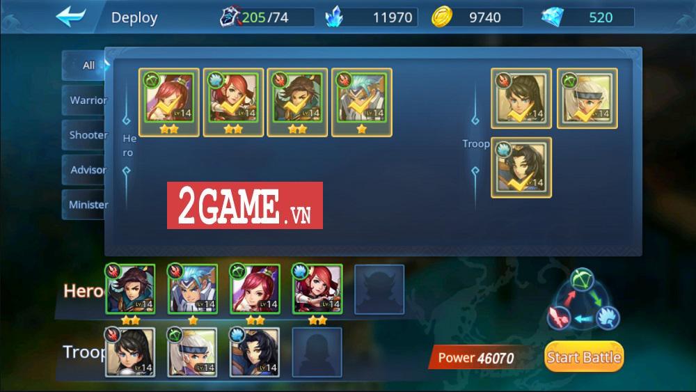 Chơi thử Đế Vương Bá Nghiệp Mobile: Đồ họa tuyệt đẹp, hệ thống chiến thuật có chiều sâu 14