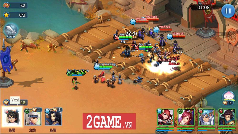 Chơi thử Đế Vương Bá Nghiệp Mobile: Đồ họa tuyệt đẹp, hệ thống chiến thuật có chiều sâu 9