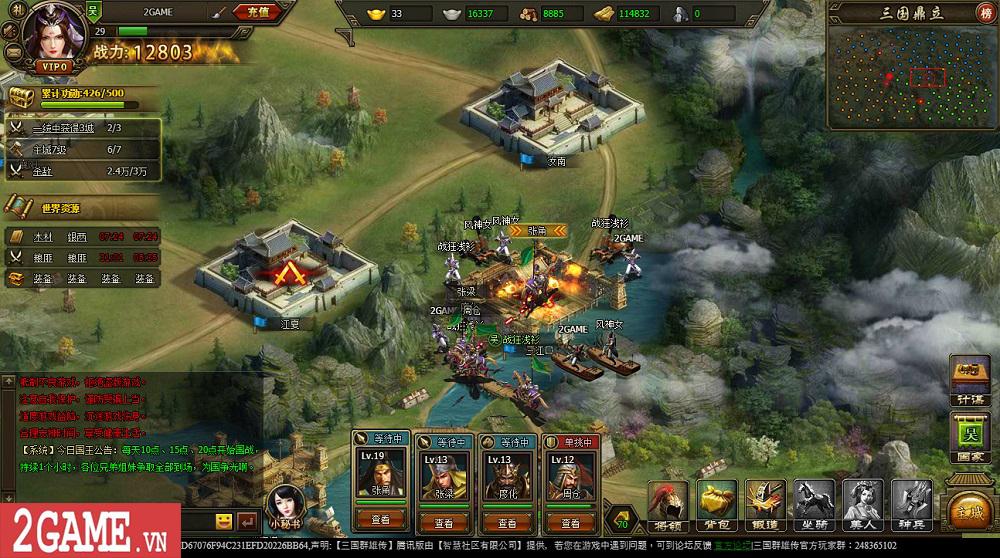 Chơi thử Webgame Loạn Tam Quốc: Game SLG đầu tư chỉn chu về kĩ năng và hiệu ứng của các tướng lĩnh 16