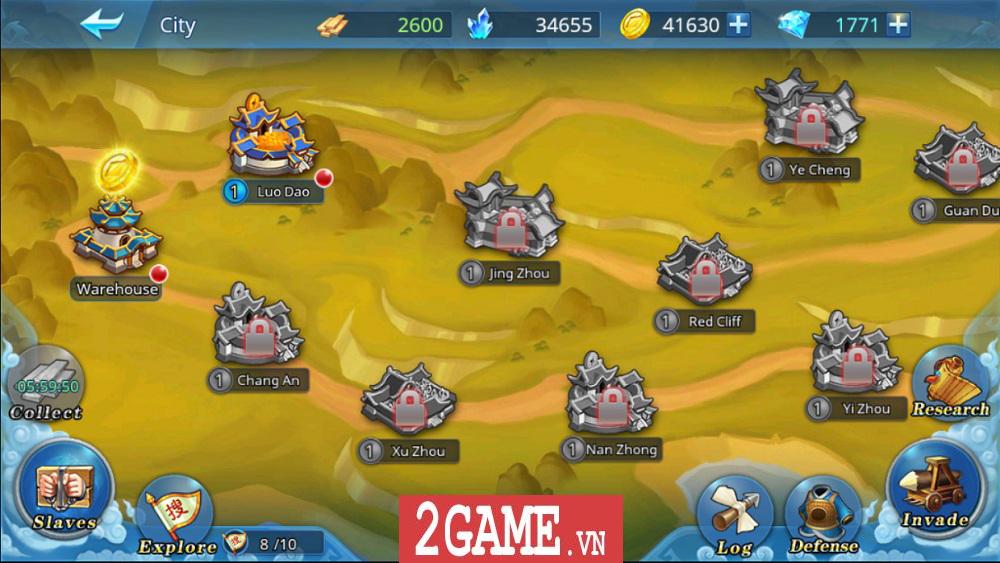 Chơi thử Đế Vương Bá Nghiệp Mobile: Đồ họa tuyệt đẹp, hệ thống chiến thuật có chiều sâu 11