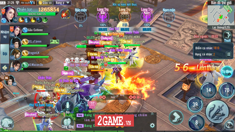 Fan Nhất Kiếm Giang Hồ Mobile cảm thấy ấm lòng khi đi đâu cũng gặp người chơi cùng 3