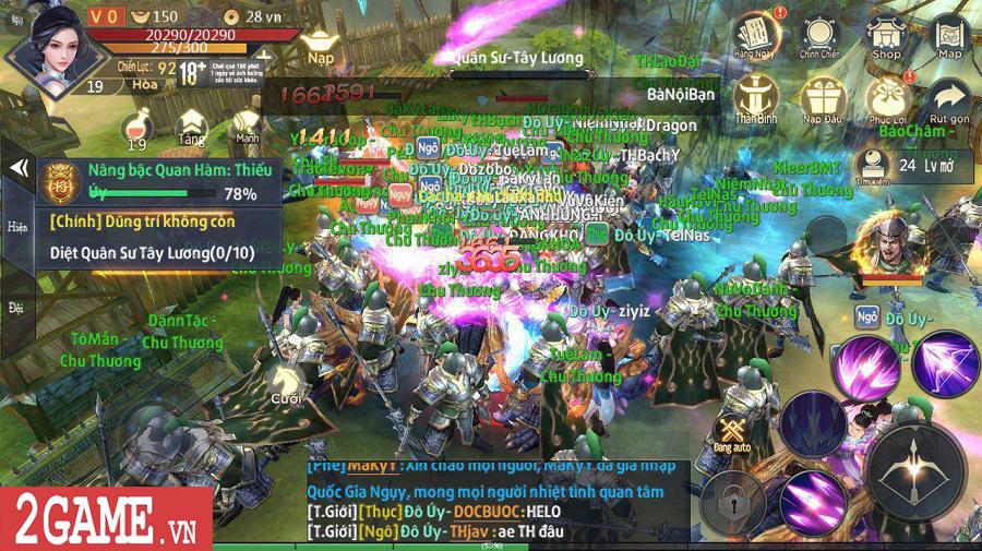 Chiến Thần Ký Mobile là game đầu tiên có hệ thống tự phát lương bổng cho người chơi 5