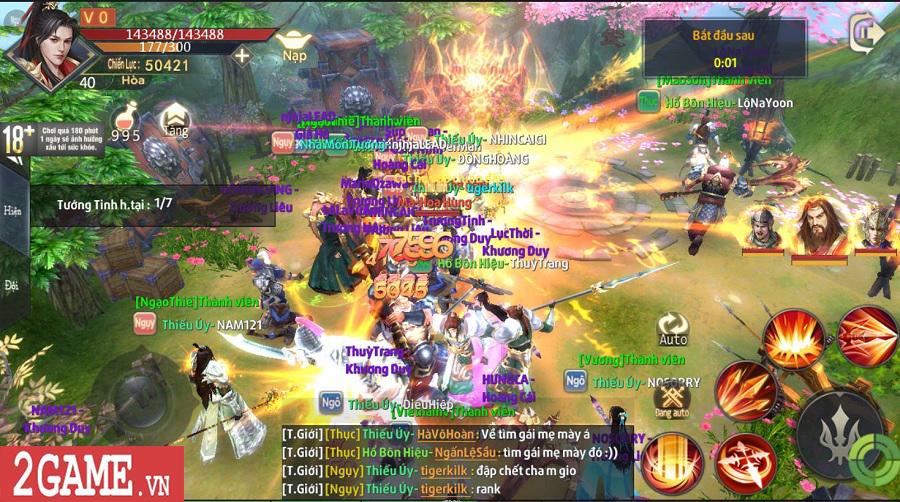 Chiến Thần Ký Mobile là game đầu tiên có hệ thống tự phát lương bổng cho người chơi 3