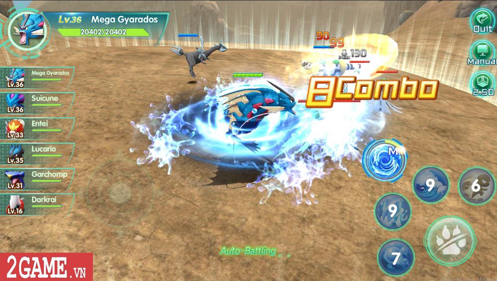 Làng Quái Thú – gMO đầu tiên cho phép người chơi tự tay điều khiển quái thú chiến đấu, hành động cực đã tay! 2