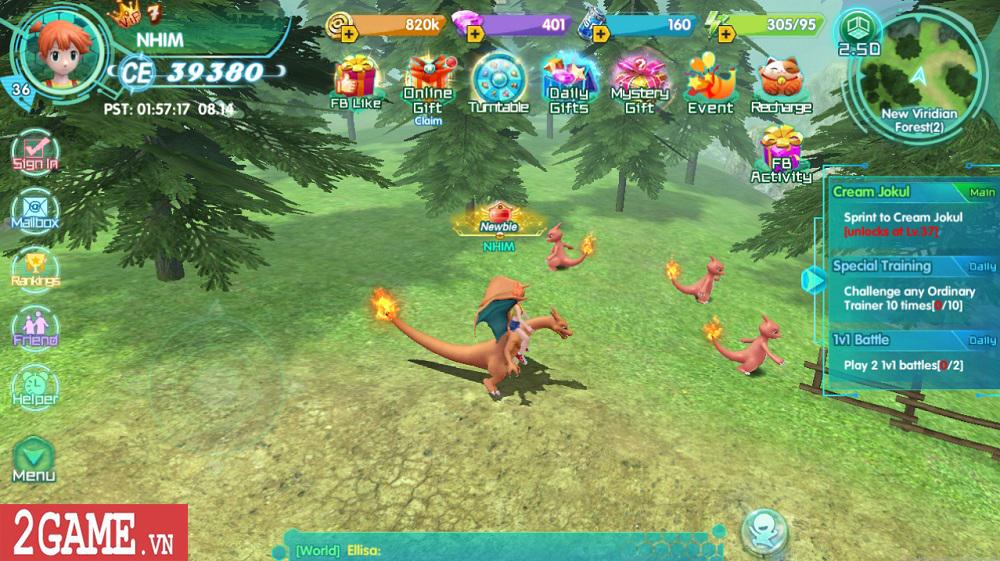 Làng Quái Thú – gMO đầu tiên cho phép người chơi tự tay điều khiển quái thú chiến đấu, hành động cực đã tay! 0