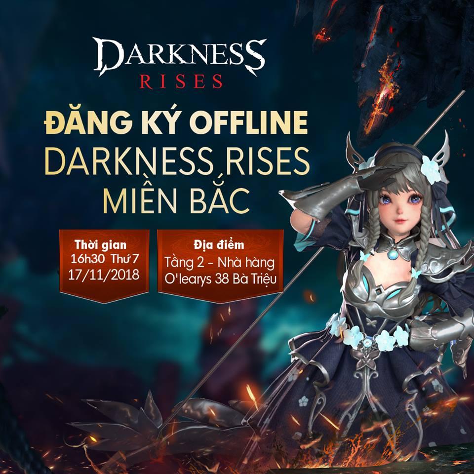 Game thủ Hà Thành bùng nổ với buổi offline hoành tráng của Darkness Rises Mobile 1