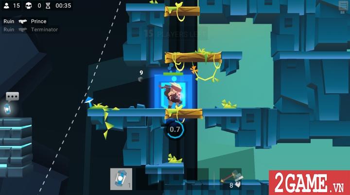 Bullet League - Game mobile sinh tồn sử dụng đồ họa 2D cuộn cảnh độc đáo 3