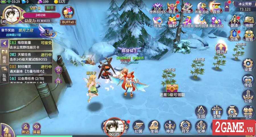 Lục Địa Hoàn Mỹ Mobile - Game nhập vai phiêu lưu giả tưởng tuyệt đẹp về Việt Nam 1